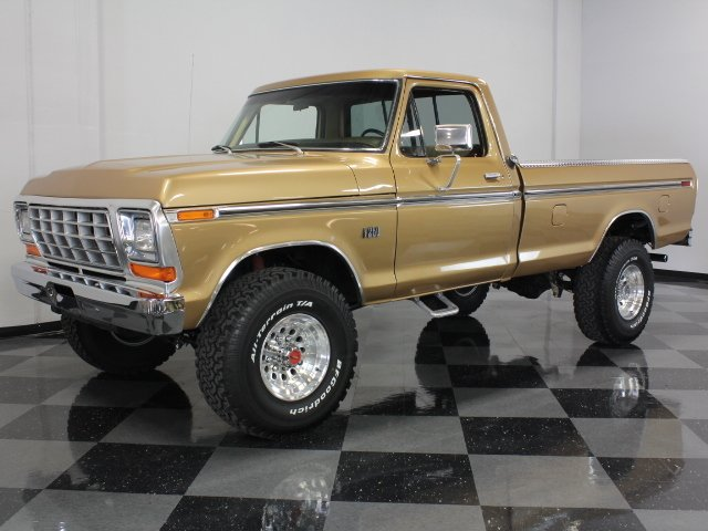 For Sale: 1975 Ford F-250