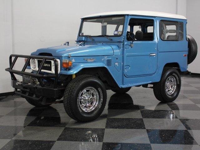 For Sale: 1981 Toyota FJ40