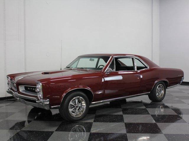 For Sale: 1966 Pontiac GTO