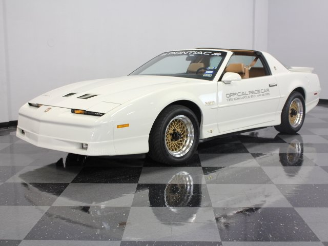 1989 pontiac firebird trans am pace car