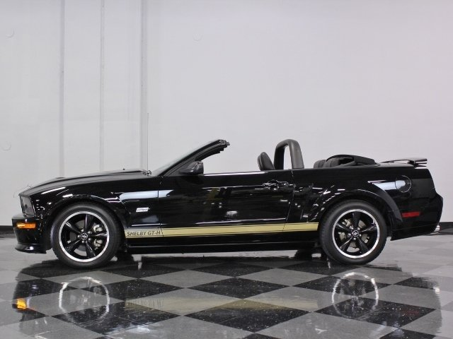 2007 ford mustang shelby gt h