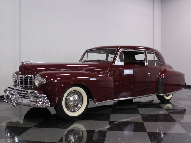 For Sale: 1948 Lincoln Continental
