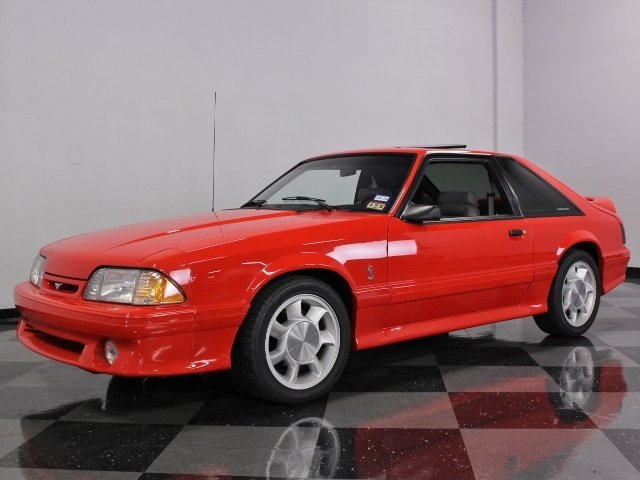 5581517321bd3f Email Us About This  1993 Ford Mustang Cobra SVT