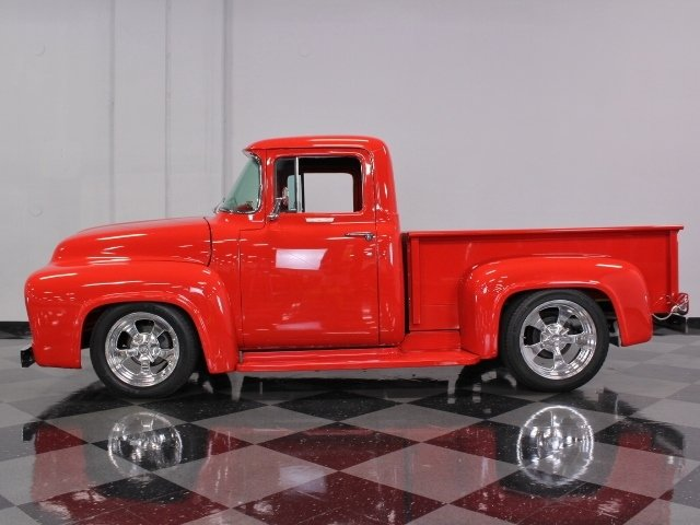 1956 ford f 100 custom cab