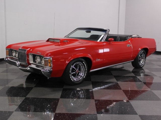 For Sale: 1972 Mercury Cougar