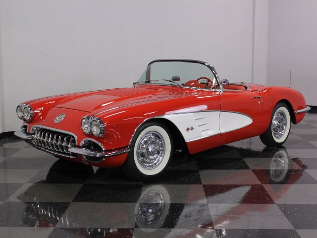 For Sale: 1958 Chevrolet Corvette