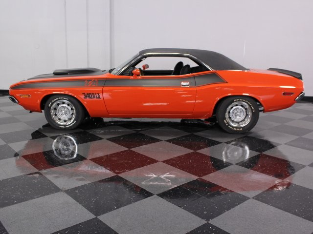 1970 dodge challenger t a tribute