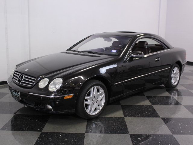 2002 mercedes benz cl500 streetside classics the nation 39 s trusted classic car consignment dealer. Black Bedroom Furniture Sets. Home Design Ideas