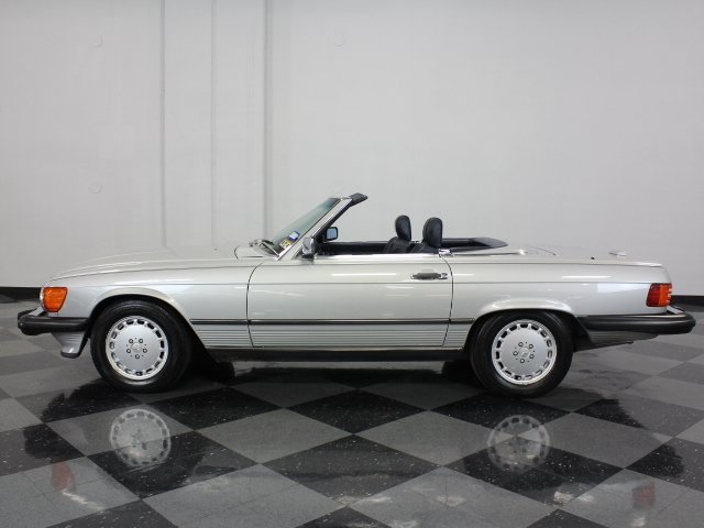 1989 mercedes benz 560sl