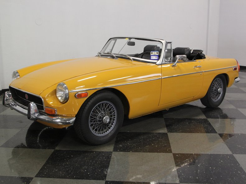 For Sale: 1972 MG MGB