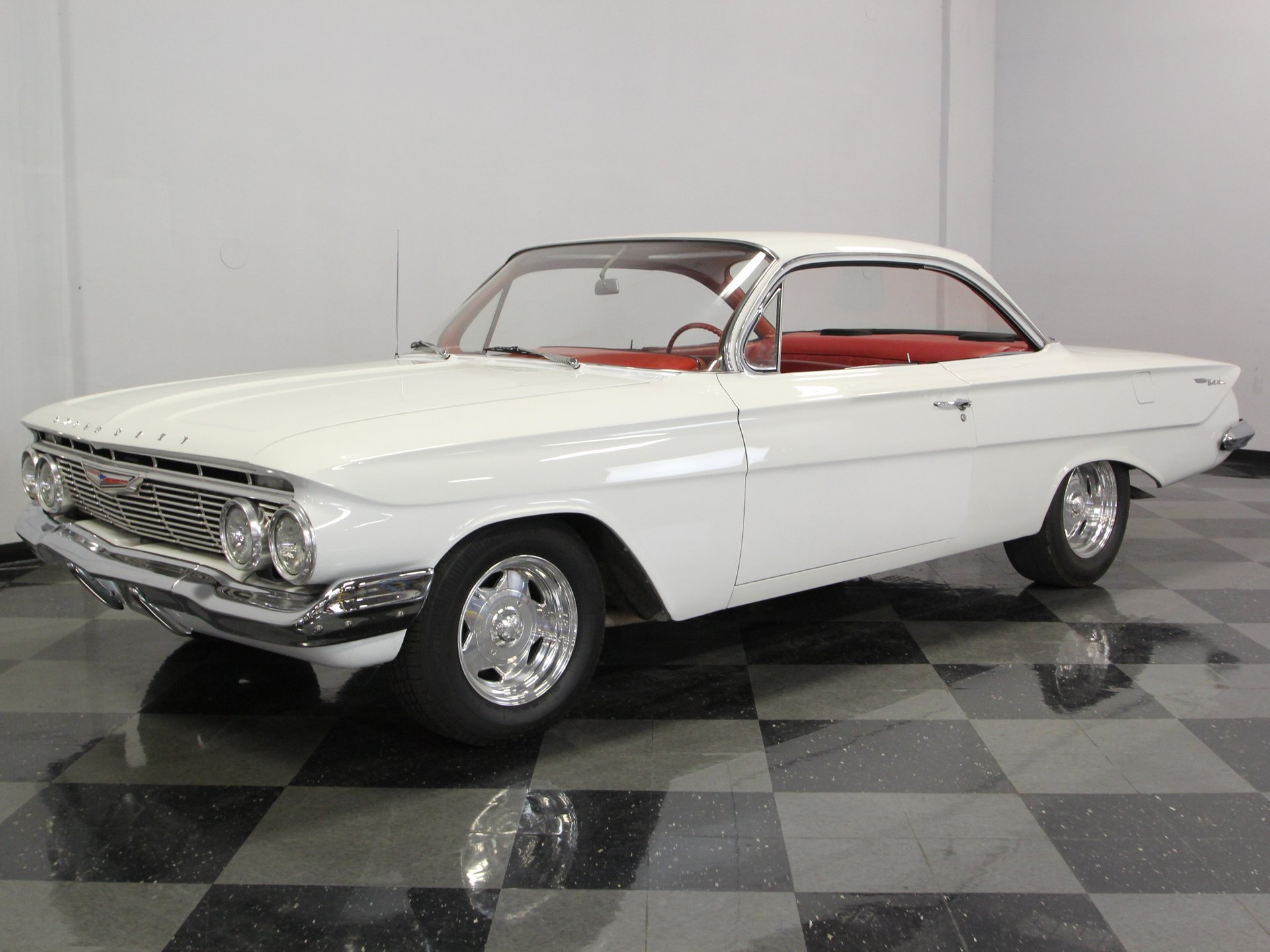 1961 chevrolet bel air sport coupe