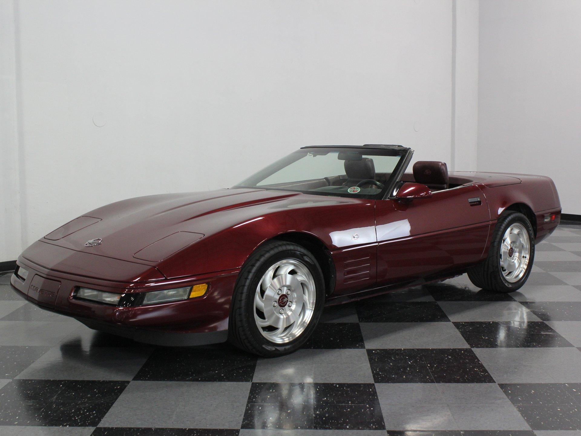 1993 chevrolet corvette 40th anniversary