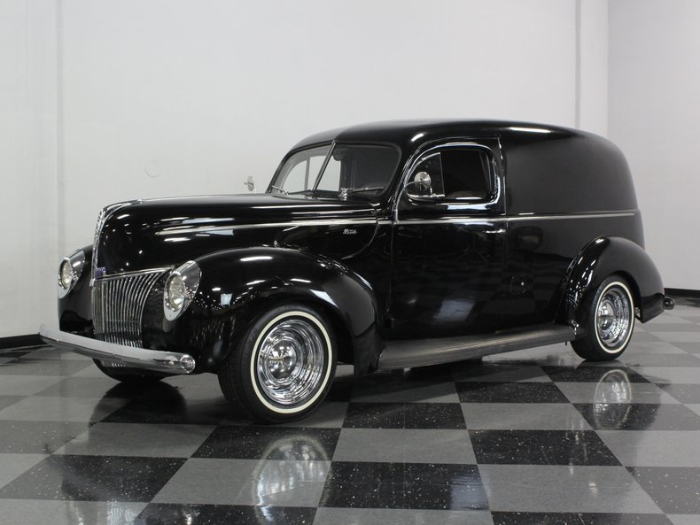 For Sale: 1940 Ford Sedan Delivery