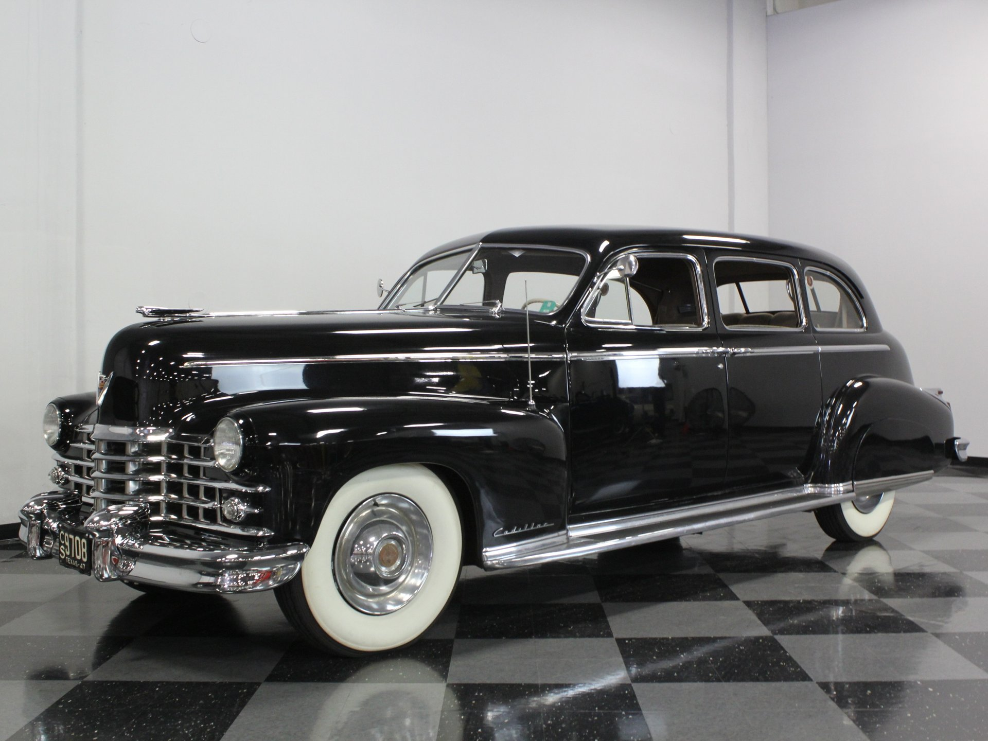 1947 cadillac fleetwood limousine