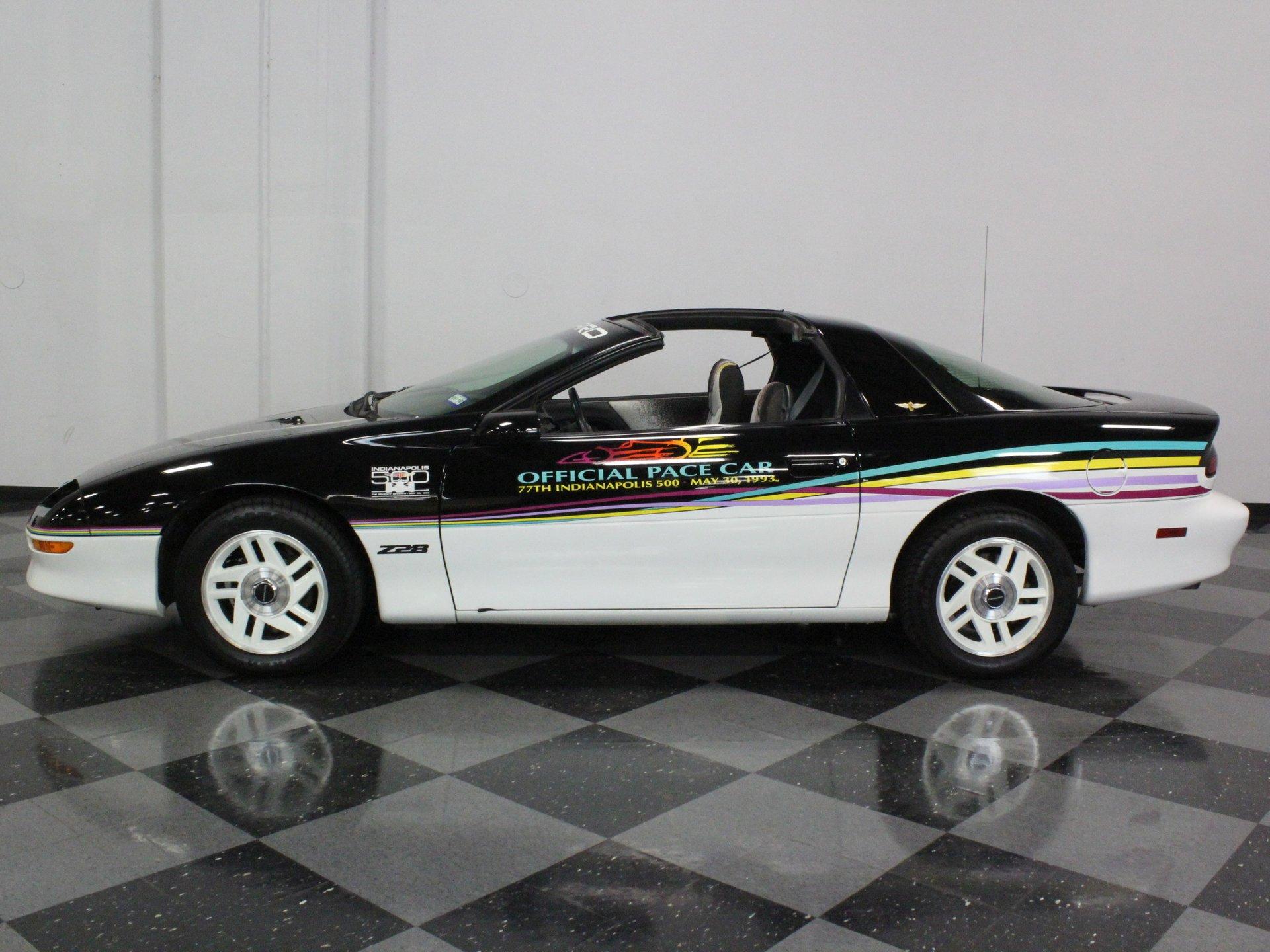 1993 chevrolet camaro indianapolis 500 pace car