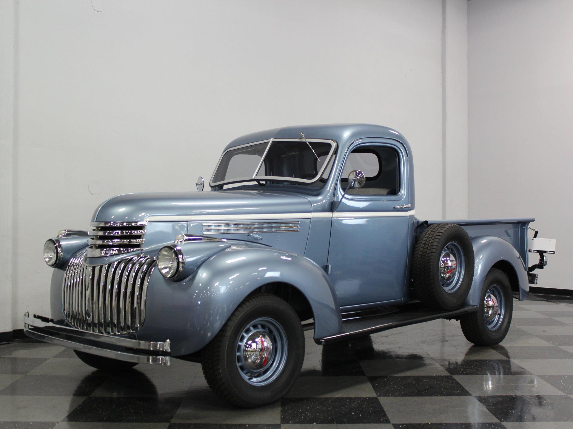 1945 chevrolet 1 2 ton pickup