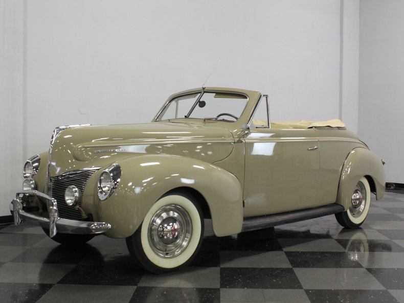 For Sale: 1940 Mercury Eight
