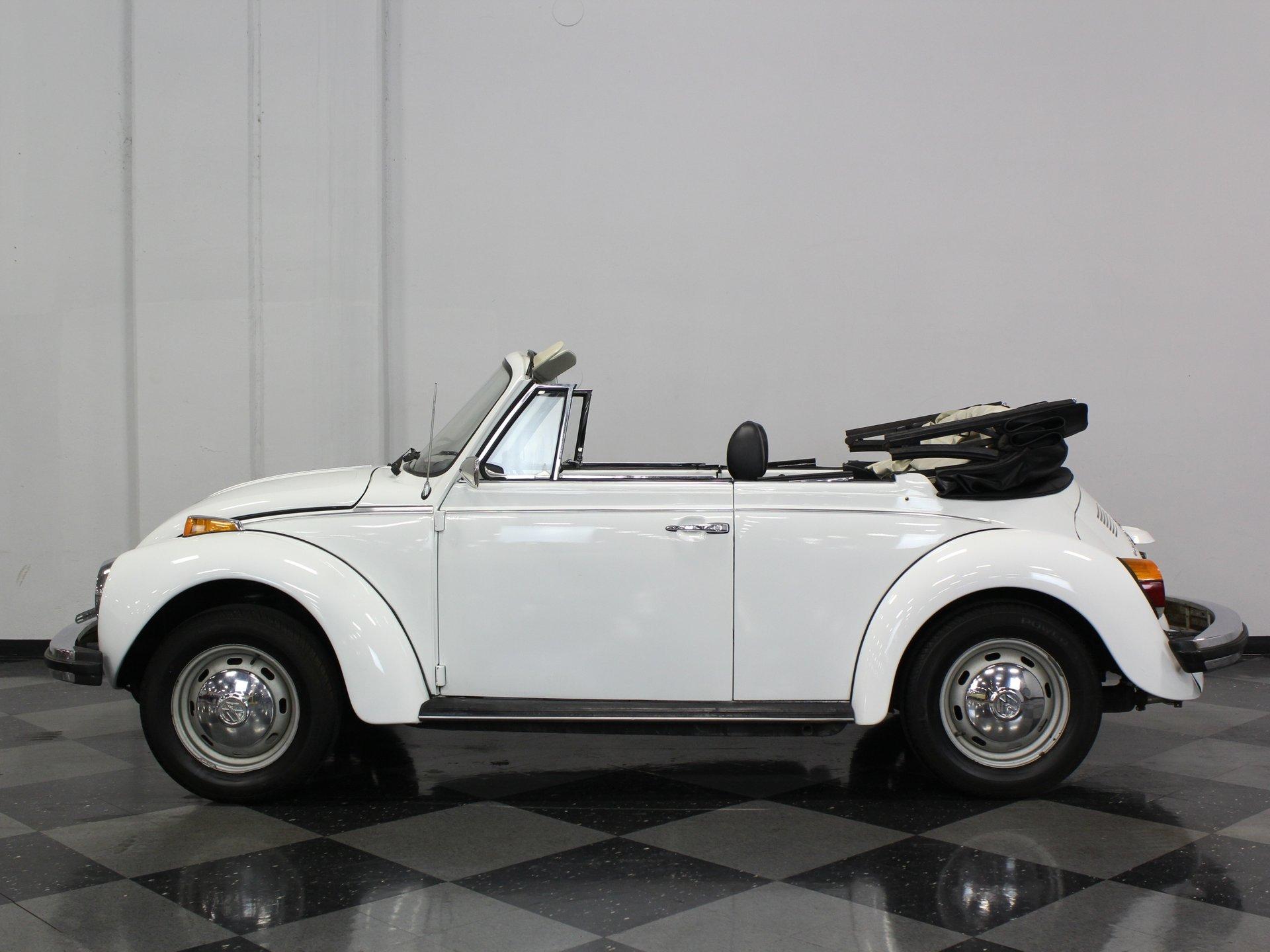 1978 volkswagen super beetle karmann