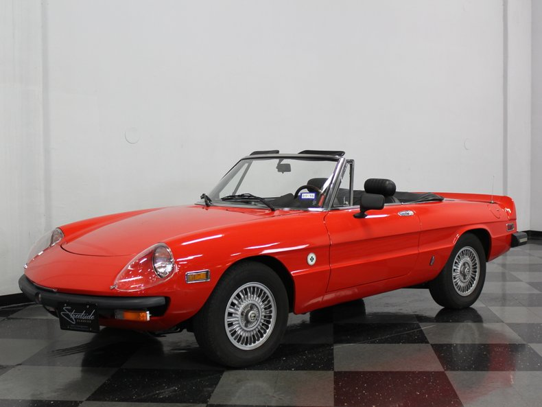 For Sale: 1978 Alfa Romeo Spider