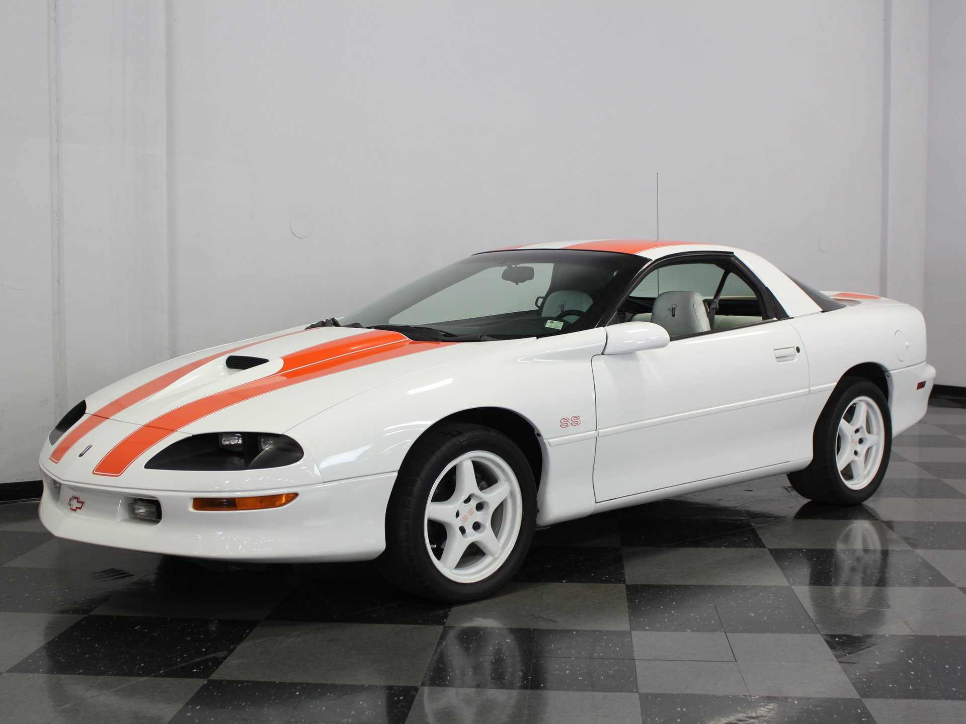 1997 chevrolet camaro ss 30th anniversary slp edition