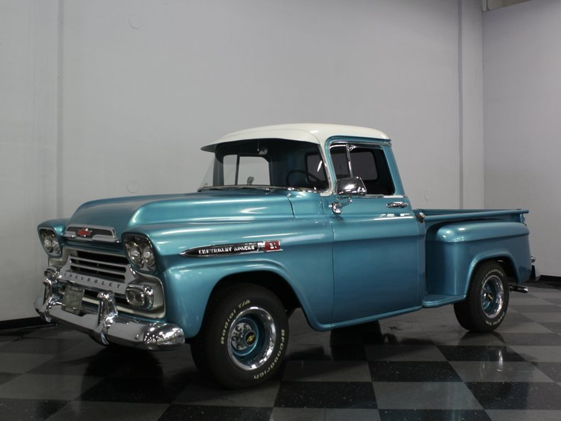 1959 Chevrolet Apache Streetside Classics The Nations Trusted