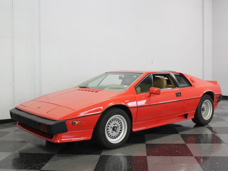 For Sale: 1987 Lotus Esprit