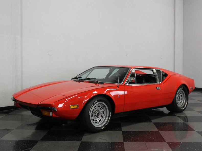 For Sale: 1974 De Tomaso Pantera