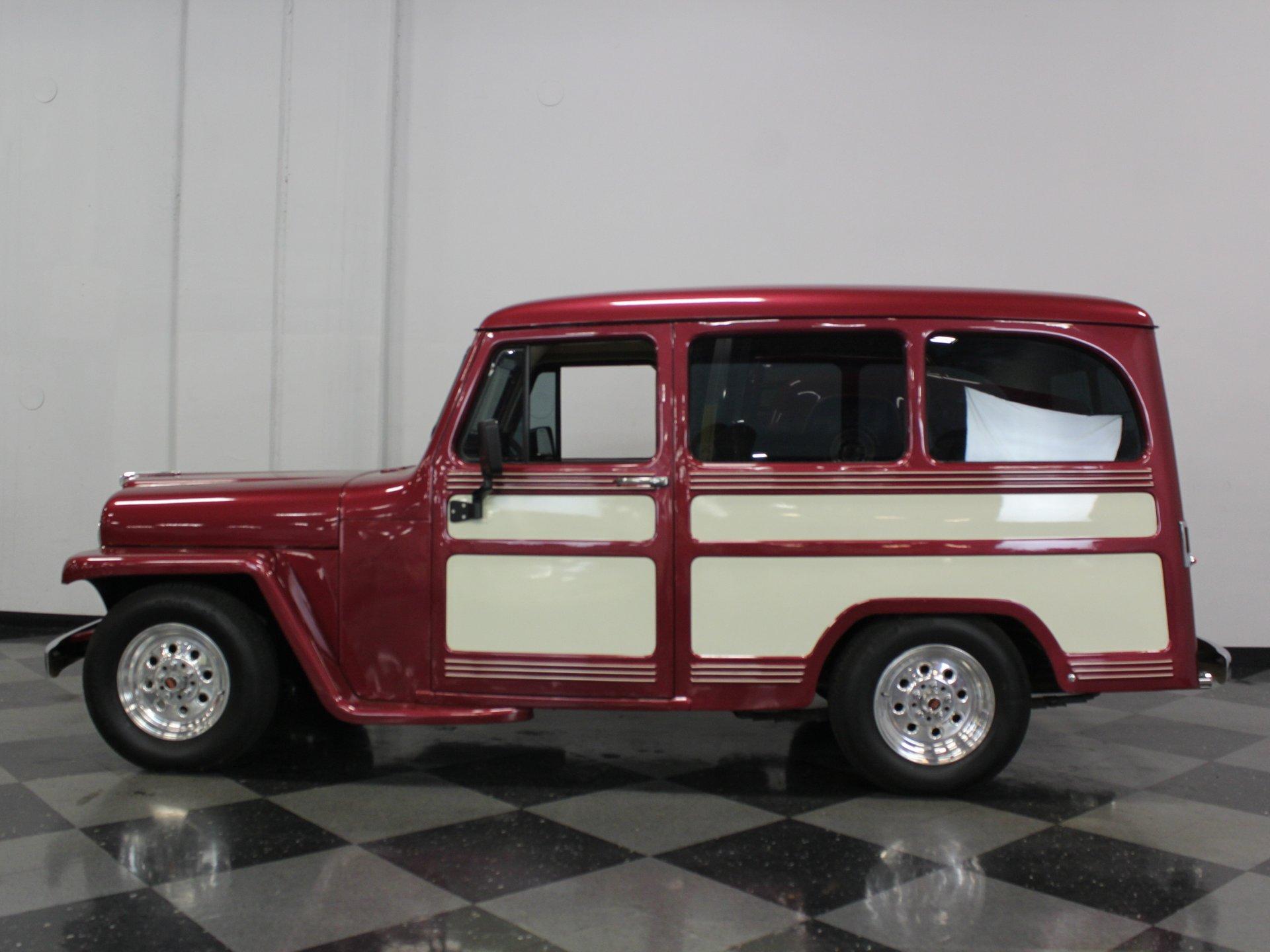 1957 willys wagon