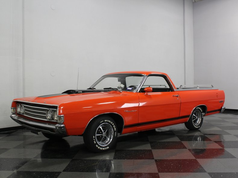 For Sale: 1969 Ford Ranchero