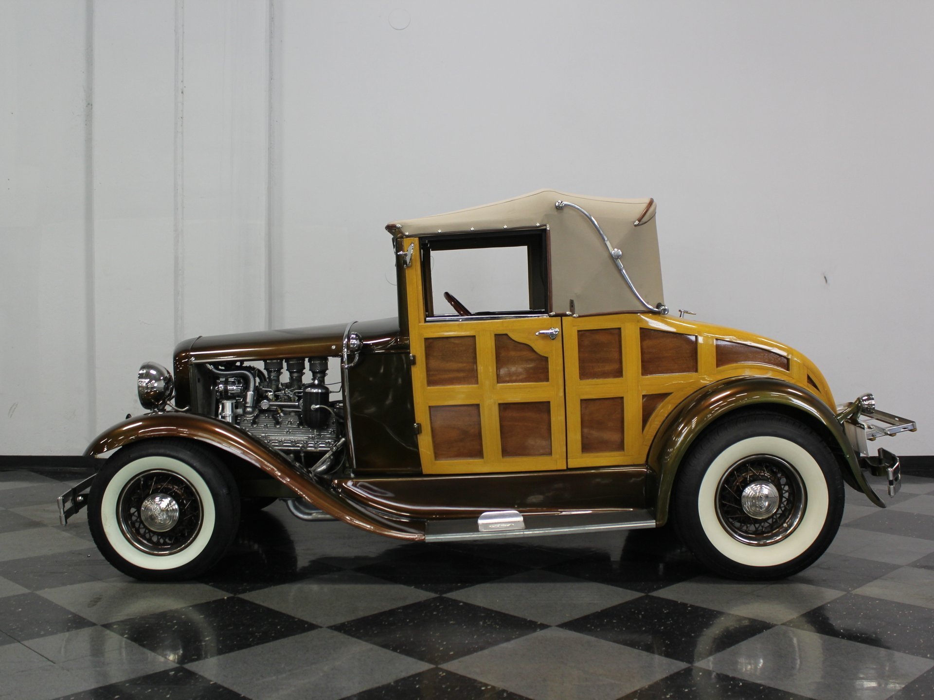 1931 ford model a woody