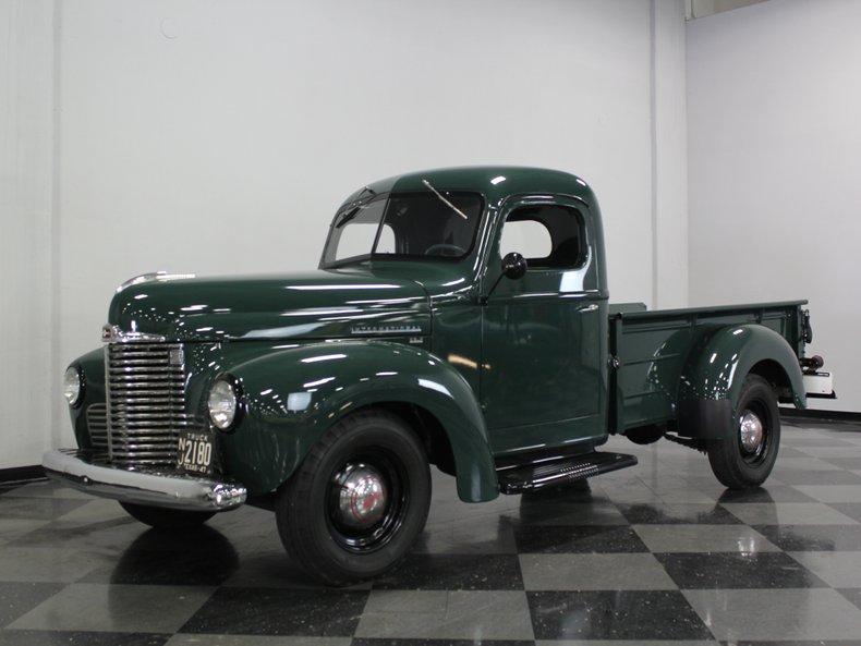 For Sale: 1947 International Truck