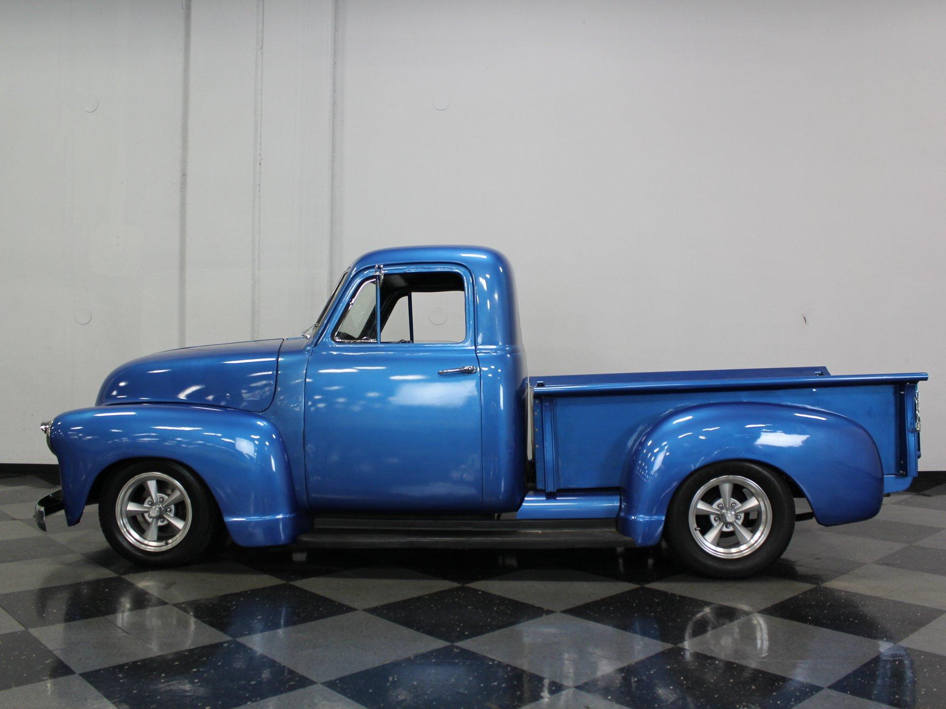 1951 chevrolet 1 2 ton pickup