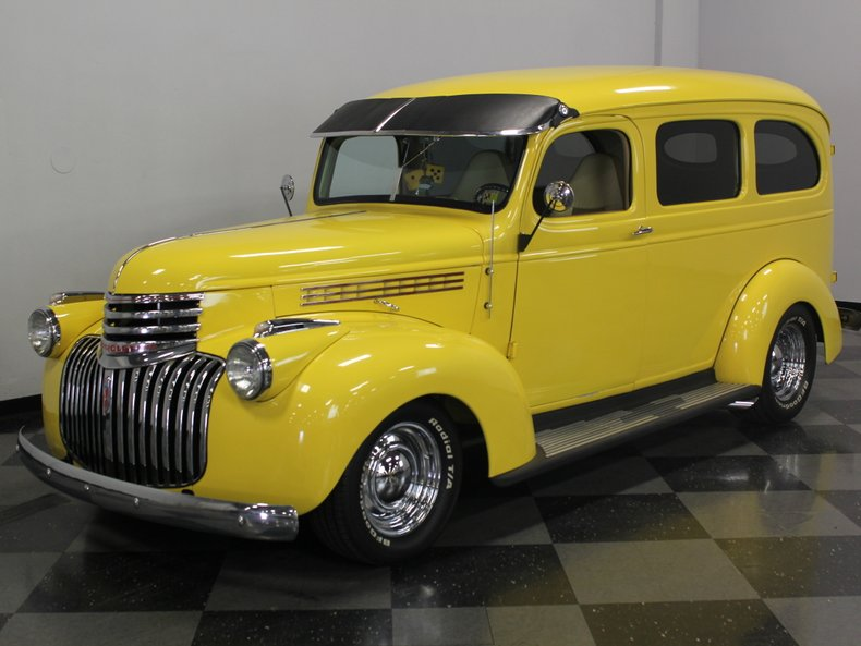 For Sale: 1946 Chevrolet Carry-All