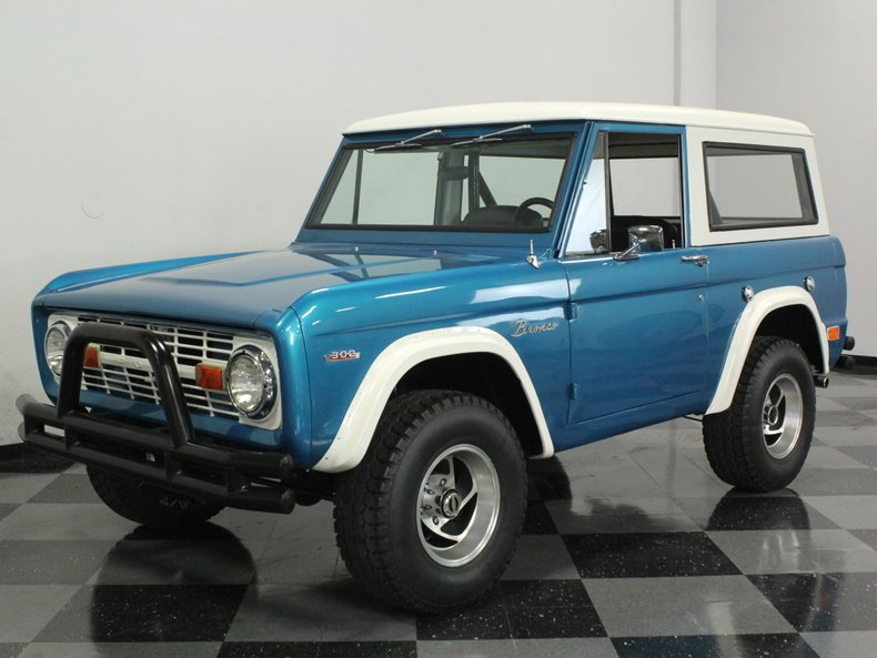 For Sale: 1969 Ford Bronco