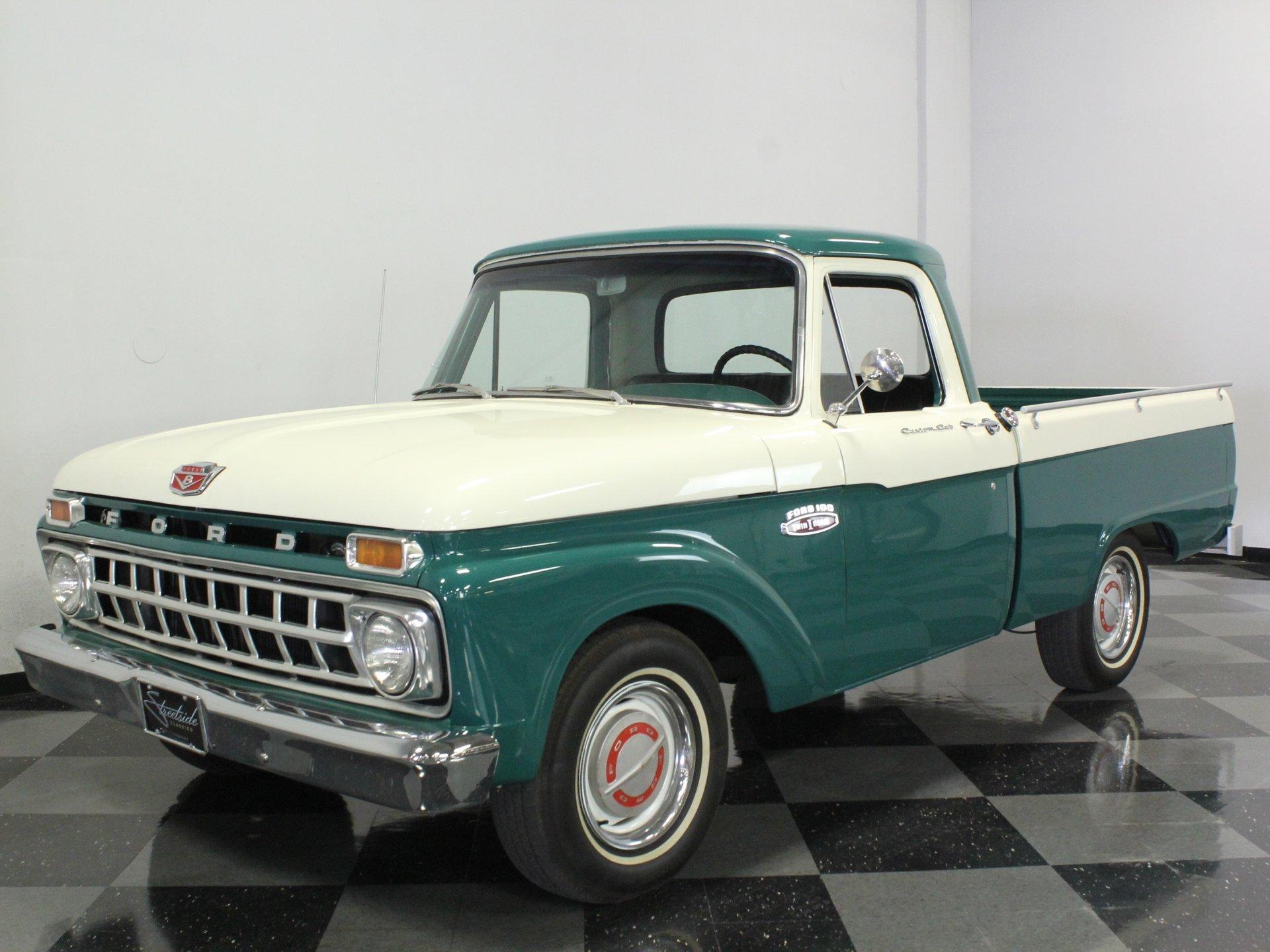 1965 ford f 100 custom cab