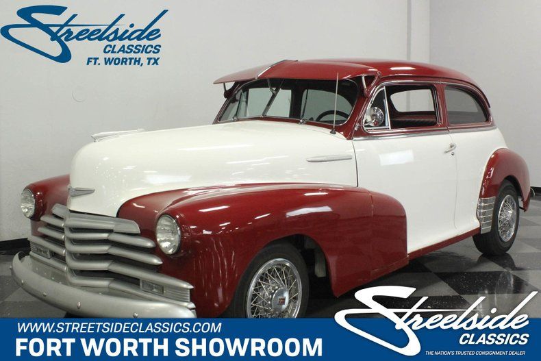 For Sale: 1947 Chevrolet Fleetmaster