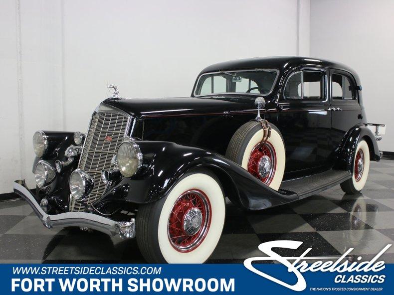 For Sale: 1934 Pierce-Arrow 836A