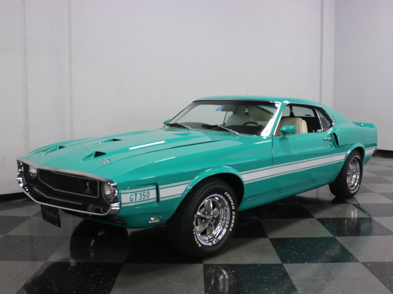 For Sale: 1969 Shelby GT350-H