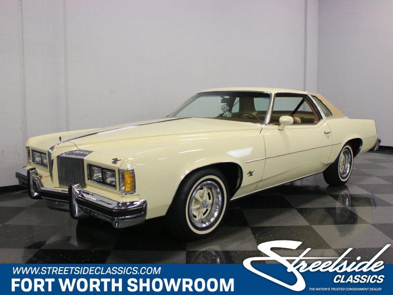 For Sale: 1976 Pontiac Grand Prix