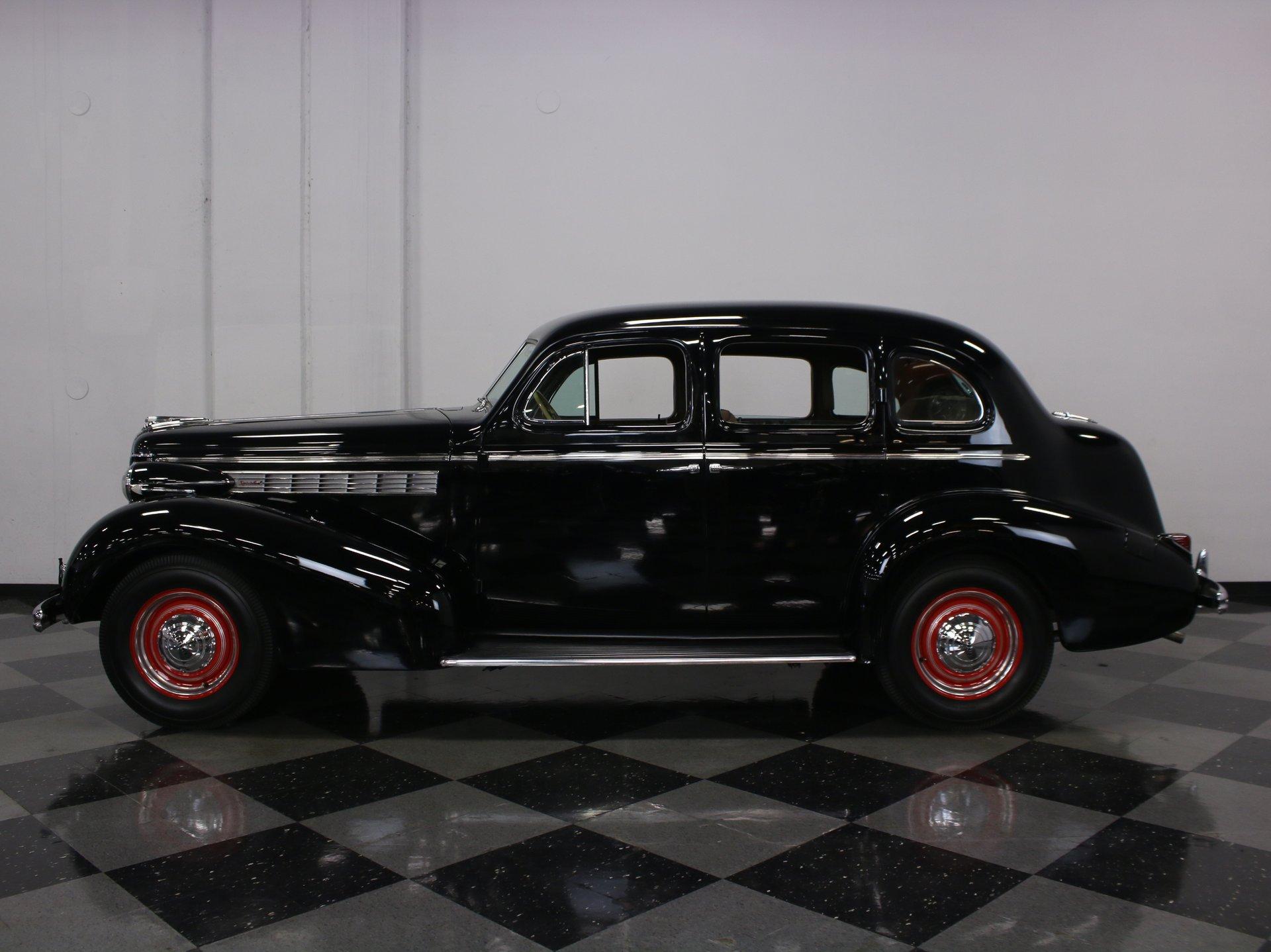 1938 buick series 40 touring sedan
