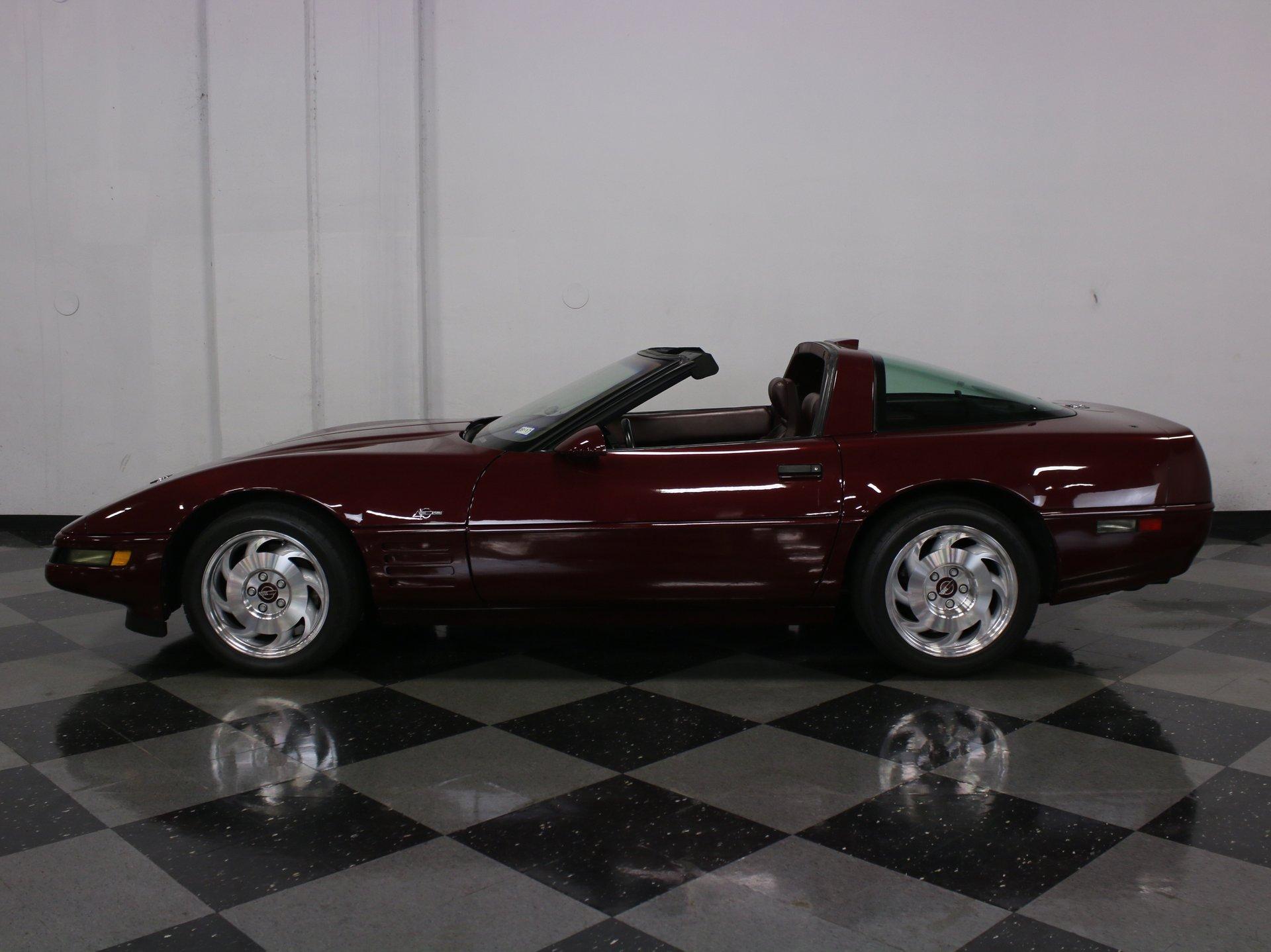 1993 chevrolet corvette zr 1 40th anniversary