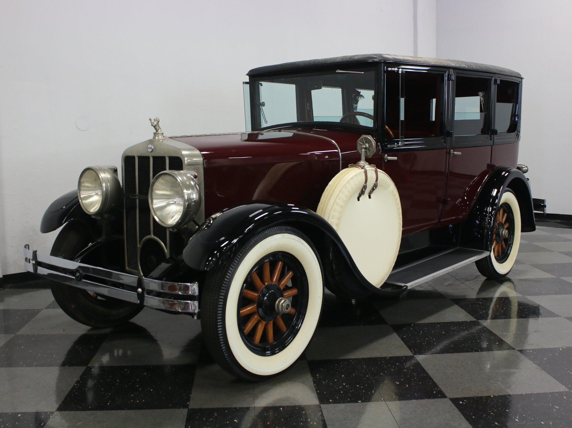 1928 franklin airman touring sedan