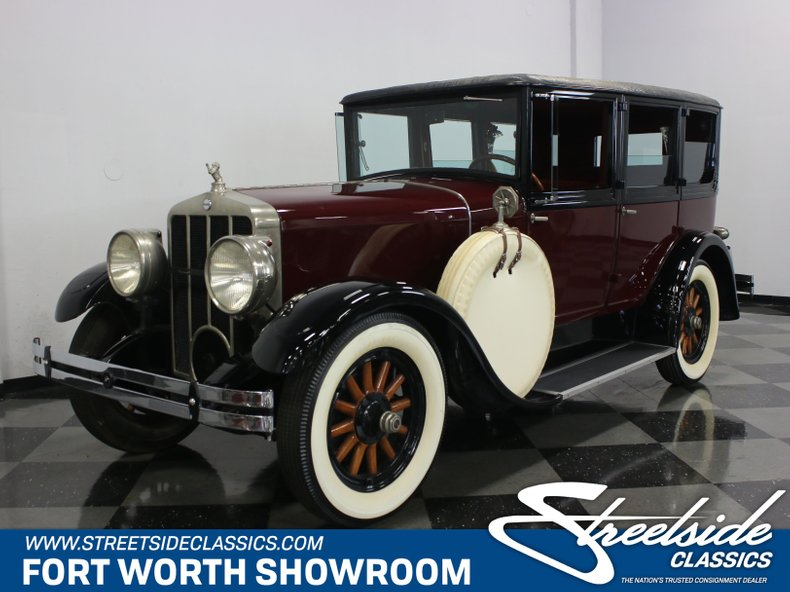 For Sale: 1928 Franklin Airman Touring Sedan