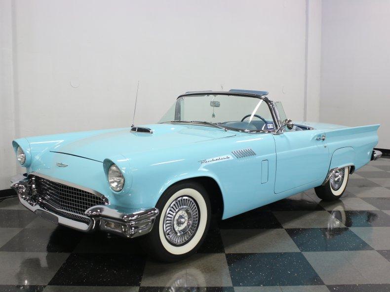 For Sale: 1957 Ford Thunderbird