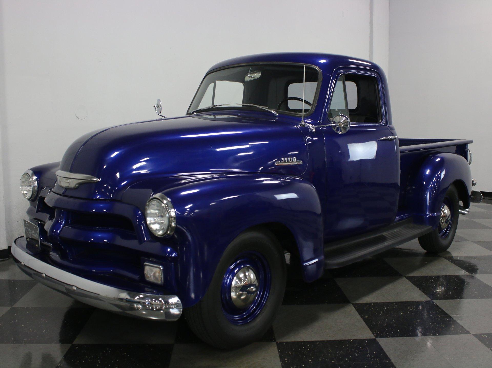 1954 chevrolet 3100 3 window