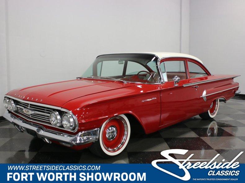 For Sale: 1960 Chevrolet Bel Air