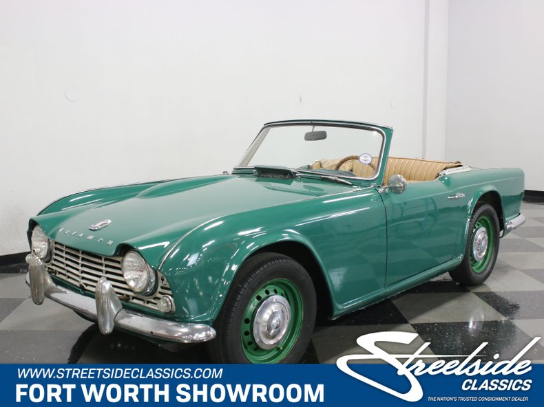 For Sale: 1963 Triumph TR4