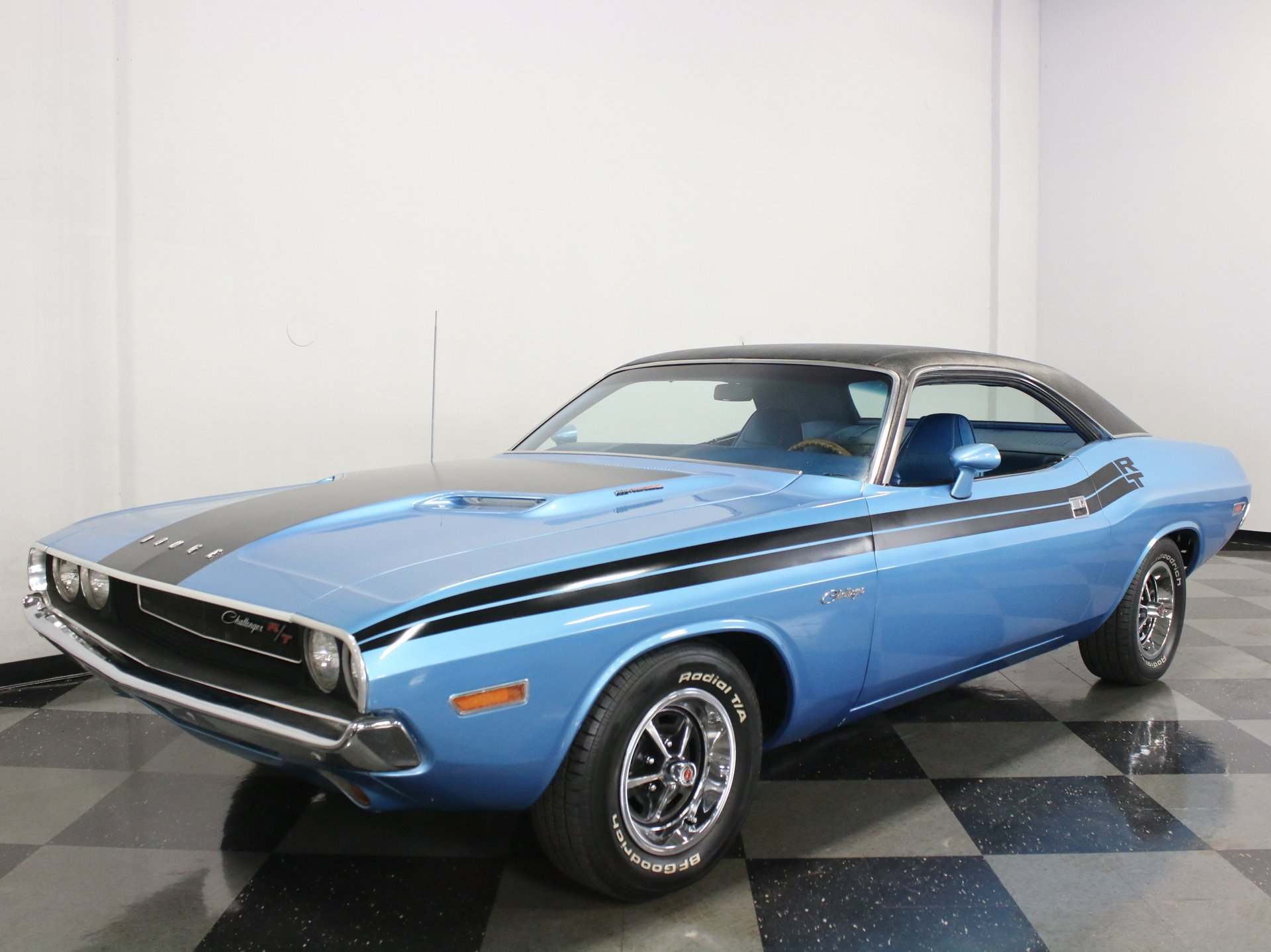 1970 dodge challenger r t tribute