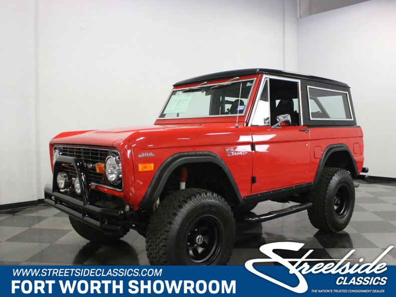 For Sale: 1977 Ford Bronco