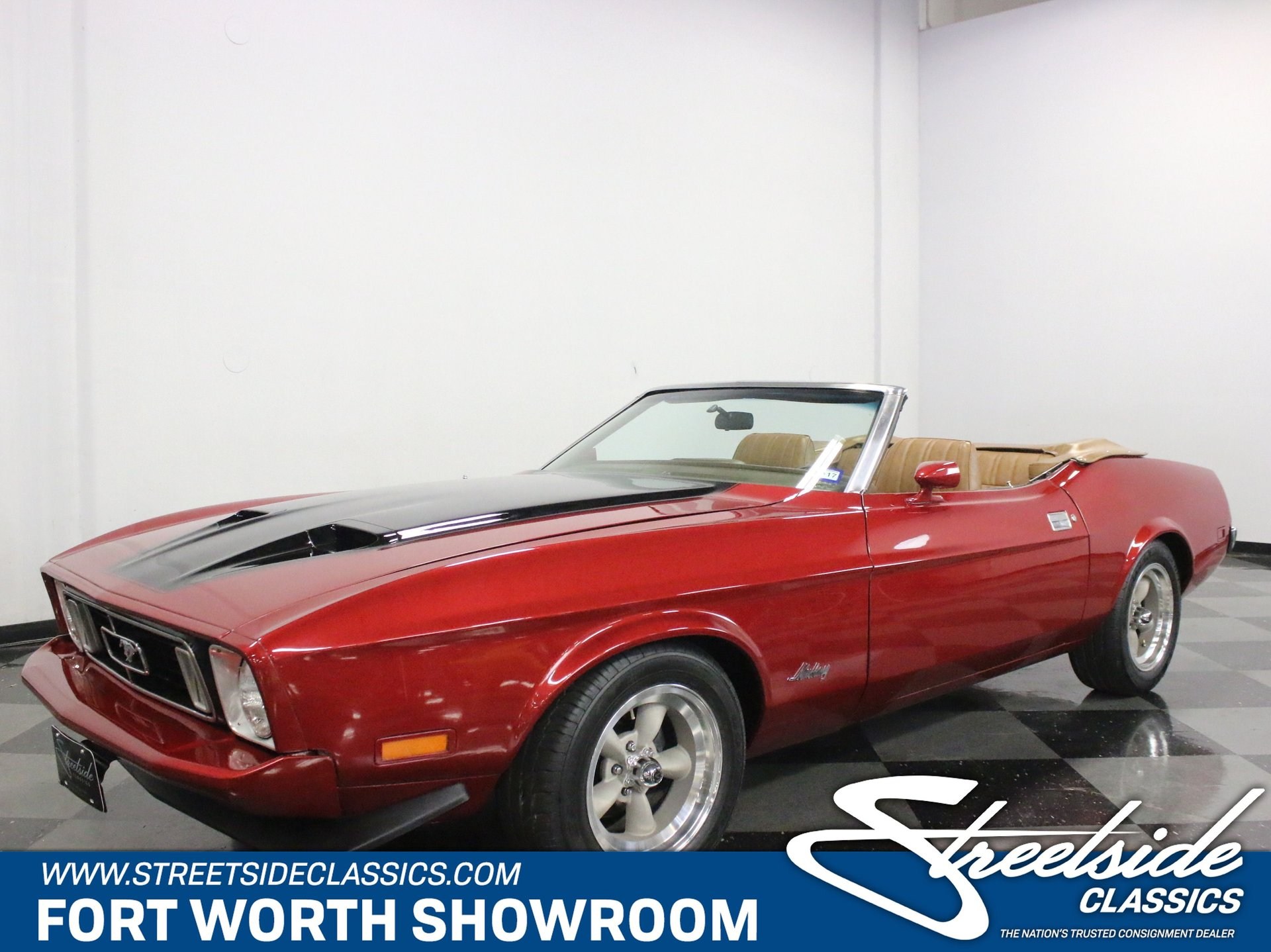 1973 ford mustang convertible resto mod